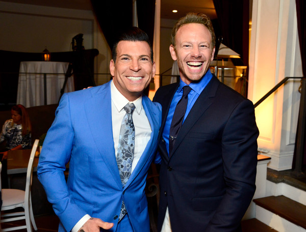 WE tv and Ian Ziering Raise Awareness For Canine Companions For Independence [suit,formal wear,event,tuxedo,fashion,smile,white-collar worker,fun,outerwear,blazer,ian ziering,david tutera,ian ziering raise awareness for canine companions for independence,awareness,boulevard 3,california,los angeles,we tv,l,event]
