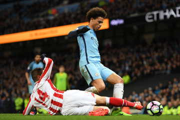 Ibrahim Afellay Manchester City v Stoke City - Premier League