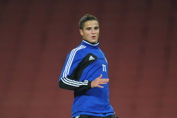 Ibrahim Afellay FC Schalke 04 Training Session & Press Conference