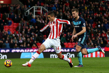 Ibrahim Afellay Stoke City v Middlesbrough - Premier League