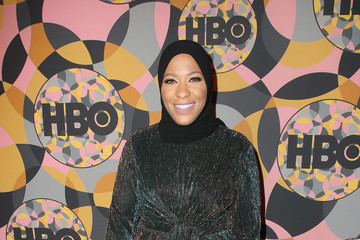 Ibtihaj Muhammad HBO's Official Golden Globes After Party - Arrivals