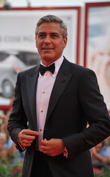 "Actor George Clooney attends ""The Ides Of March"" premiere during the 68th Venice Film Festival at the Palazzo del Cinema on August 31, 2011 in Venice, Italy."