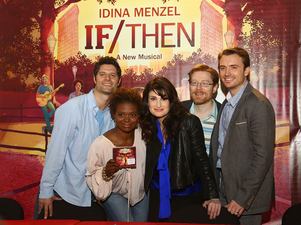 'If/Then' Broadway Cast CD Signing