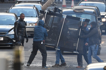 Idris Elba Production Of 'Fast and Furious' Spin-Off Continues In Glasgow