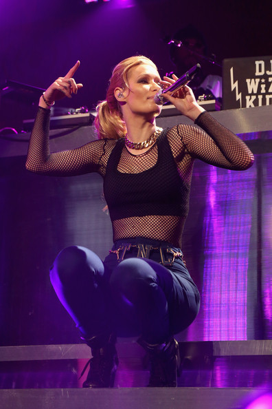 KISS 108's Jingle Ball 2014 - Show [performance,entertainment,music artist,performing arts,singing,music,stage,event,singer,public event,iggy azalea,boston,massachusetts,td garden,kiss 108,market basket supermarkets,jingle ball 2014 - show]