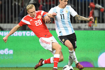 Igor Smolnikov Russia vs Argentina - International Friendly