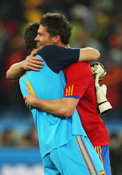 f314377b2a0 Iker Casillas and Xabi Alonso Photos Photos - Germany v Spain  2010 ...