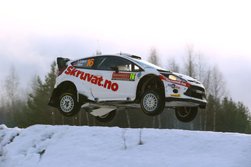 Ilka Minor FIA World Rally Championship Sweden - Day Three