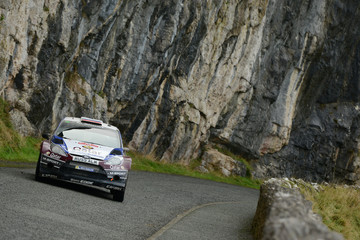 Ilka Minor FIA World Rally Championship Great Britain - Day Four