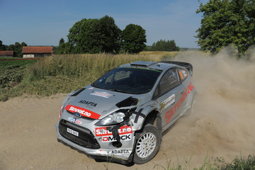 Ilka Minor FIA World Rally Championship Poland - Day Two