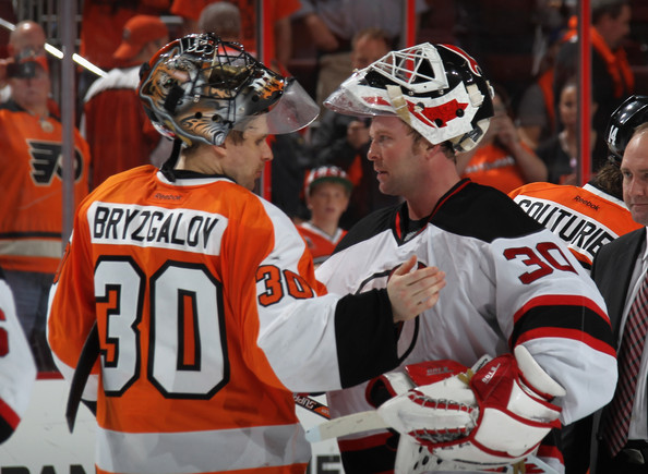 Ilya Bryzgalov - New Jersey Devils v Philadelphia Flyers - Game Five