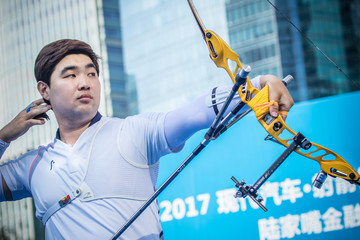 Im Dong Hyun Archery World Cup 2017 Stage 1 - Shanghai