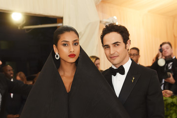 Imaan Hammam Heavenly Bodies: Fashion & The Catholic Imagination Costume Institute Gala - Arrivals