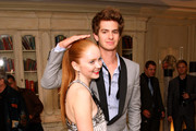 Lily Cole and Andrew Garfield Photos Photo
