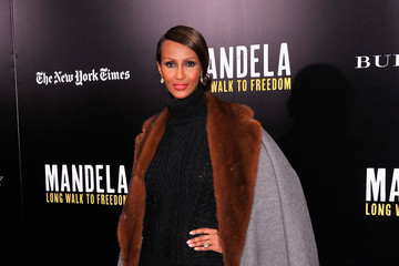Iman 'Mandela: Long Walk to Freedom' Screening in NYC — Part 3