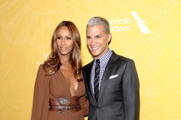 Iman Jay Manuel Arrivals at the Variety Power of Women Event — Part 6