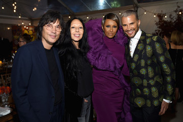 Iman Jay Manuel Glamour 2017 Women Of The Year Awards - Dinner Presented By SoFi, Held At Skylight At Kings Theater
