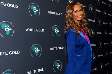 "Iman ""White Gold"" New York Special Screening"