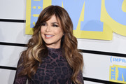 """Paula Abdul attends the screening of """"Impractical Jokers: The Movie"""" at AMC Lincoln Square Theater on February 18, 2020 in New York City."""