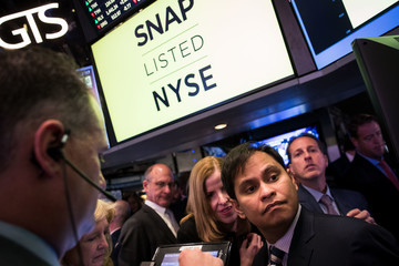 Imran Khan Snapchat Parent Snap Begins Trading on New York Stock Exchange