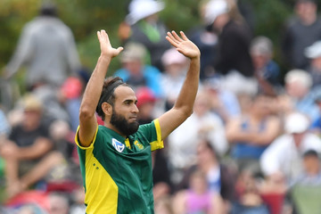 Imran Tahir New Zealand v South Africa - 2nd ODI