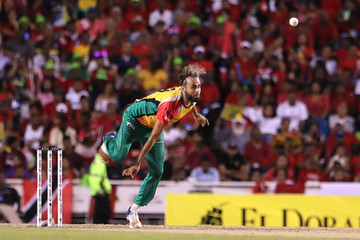Imran Tahir Winner Playoff 1 v Winner Semi-Final - 2018 Hero Caribbean Premier League (CPL) Tournament Final