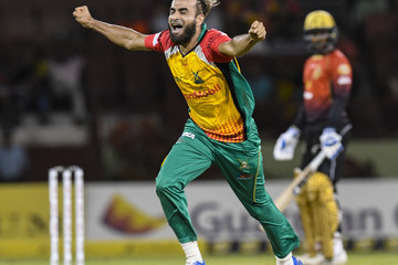 Imran Tahir 1st vs. 2nd - 2018 Hero Caribbean Premier League (CPL) Tournament Play-Off 1