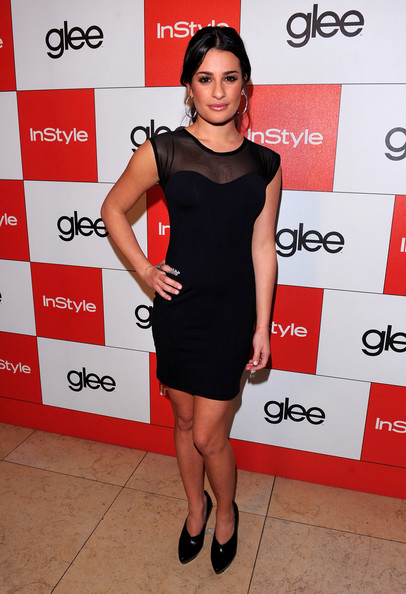 Glee's Golden Globe Nominations Arriva. In This Photo: Lea Michele