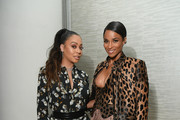 LaLa Anthony and Ciara attend the InStyle Dinner to Celebrate the April Issue Hosted By Cover Star Ciara and Laura Brown on March 13, 2019 in New York City.