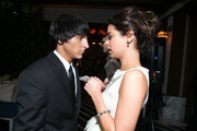Actor Mitch Musso and Miss Golden Globe 2011 Gia Mantegna attend the Miss Golden Globes Party hosted by InStyle and the Hollywood Foreign Press Association at Cecconi's Restaurant on December 9, 2010 in Los Angeles, California.