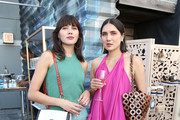Natalie Suarez and Dylana Suarez attend the InStyle Summer Social on July 24, 2019 in New York City.