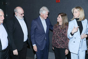 """(L-R) Yaron Zilberman, Bill Clinton, Dalia Rabin and Sharon Cohen attend a special screening of """"Incitement"""" at The Landmark at 57 West on February 01, 2020 in New York City."""