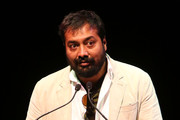 Director Anurag Kashyap speaks onstage at the Indian Film Festival Of Los Angeles (IFFLA) 6th Annual Industry Leadership Awards at House of Blues on April 11, 2013 in West Hollywood, California.