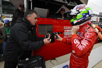 George Franchitti Indianapolis 500 Mile Race - Day 1