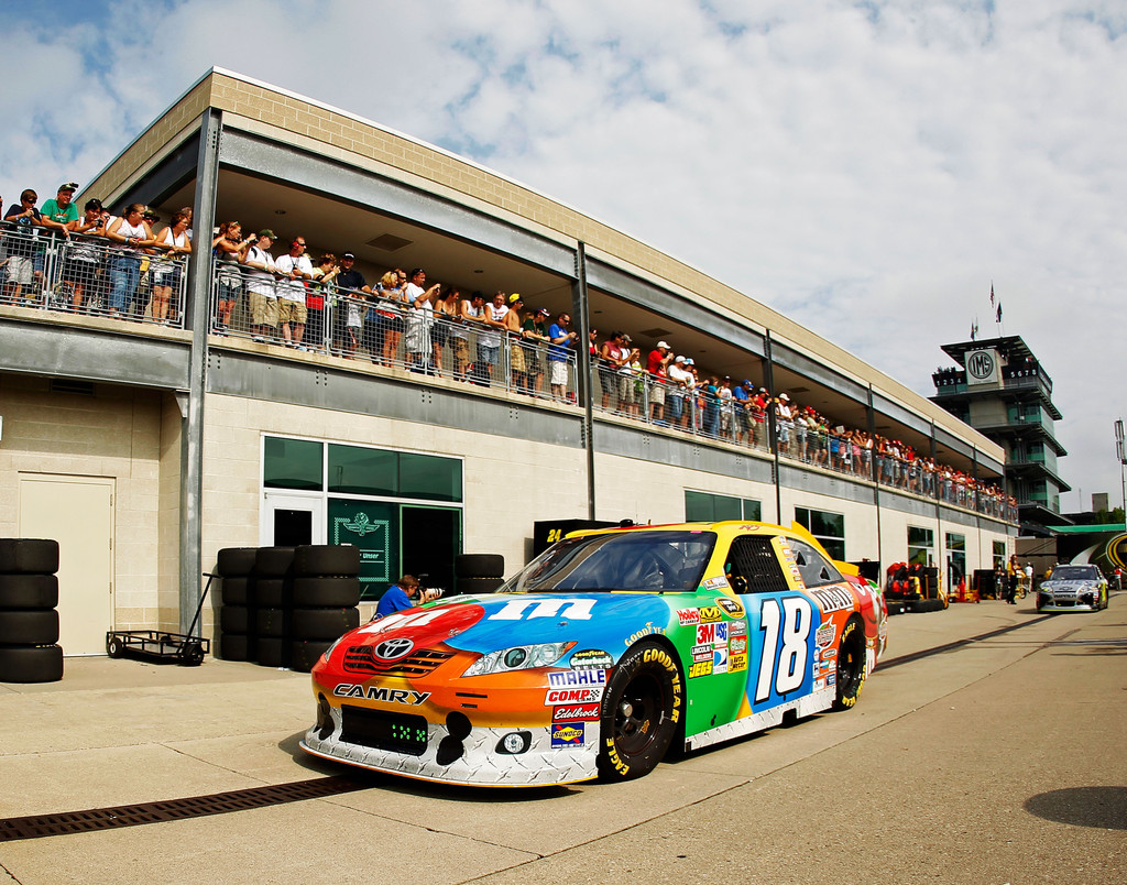 Kyle busch in indianapolis motor speedway day 2 zimbio for Indianapolis motor speedway indianapolis in