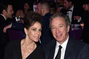 Actors Jane Hajduk (L) and Tim Allen attend the 23rd Annual Elton John AIDS Foundation Academy Awards Viewing Party on February 22, 2015 in Los Angeles, California.
