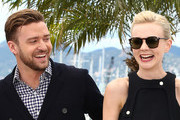 Actor Justin Timberlake and actress Carey Mulligan attend the 'Inside Llewyn Davis' photocall during the 66th Annual Cannes Film Festival at the Palais des Festivals on May 19, 2013 in Cannes, France.