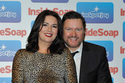(L-R) Debbie Rush and Ian Puleston Davies from Coronation Street attend the Inside Soap Awards 2011 at Gilgamesh on September 26, 2011 in London, England.