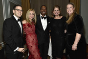 Speechwriter  Alex Halpern Levy, Michal Grayevsky, President, JCS International, Isaiah Thomas, Alexandra Trower and Katie Smith attend International Emmy Awards Red Carpet And Cocktail  at New York Hilton Midtown on November 20, 2017 in New York City.