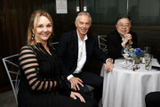 Josette Sheeran, Tony Blair and Ronnie Chan attend the International House 2018 Awards Gala on May 23, 2018 in New York City.