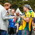 Prince Harry Photos - Prince Harry, Duke of Sussex laughing with the Australian cycling team during day two of the Invictus Games Sydney 2018 at Sydney Olympic Park on October 21, 2018 in Sydney, Australia. - Invictus Games Sydney 2018 - Day 2