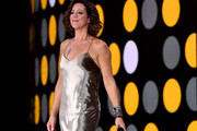 Sarah McLachlan makes her way on stage to sing during the opening ceremony of the 2017 Invictus Games at Air Canada Centre on September 23, 2017 in Toronto, Canada.The Invictus Games is the only international sporting event for wounded, injured and sick servicemen and Women (WIS). This year's games will bring together 550 competitors from 17 nations.