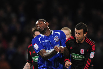 Julio Arca Ipswich Town v Middlesbrough - npower Championship