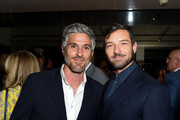 Dave Annable and Ian Bohen attend Ira and Bill DeWitt's Saint candle launch benefiting St. Jude Children's Research Hospital at Mr. Chow on June 12, 2019 in Beverly Hills, California.
