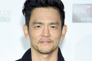 John Cho attends the US-Ireland Alliance 14th Annual Oscar Wilde Awards at Bad Robot on February 21, 2019 in Santa Monica, California.
