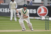 William Porterfield of Ireland during the fourth day of the international test cricket match between Ireland and Pakistan on May 14, 2018 in Malahide, Ireland.