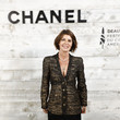 Irene Jacob Chanel And Madame Figaro Dinner In Honor Of The 46th Anniversary Of The Festival Of American Cinema In Deauville