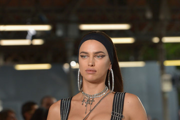 Irina Shayk The Givenchy Show at Paris Fashion Week