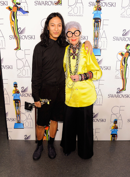 Iris Apfel - 2011 CFDA Fashion Awards - Winner's Walk