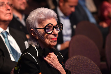 Iris Apfel The New York Times International Luxury Conference: Day 2